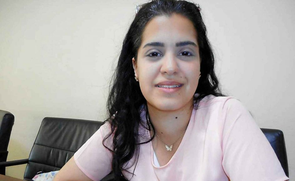 Kristne Mary Hosry var en af deltagerne ved en dialoglejr i Libanon. –