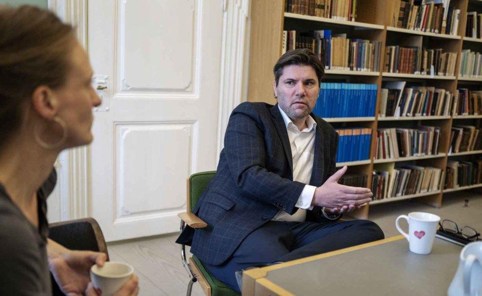 Mads Fuglede er Venstres udlændingeordfører. - Foto: Mikkel Møller Jørgensen.