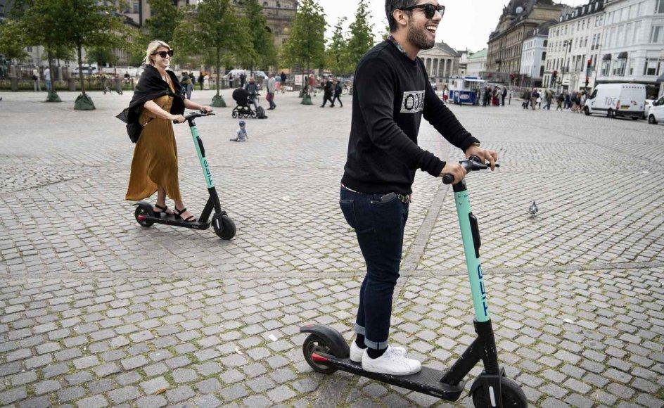 Teknik- og miljøborgmester Ninna Hedeager Olsen mener ikke, at elløbehjul bør spille en central rolle i trafikken i København.  (Arkivfoto)