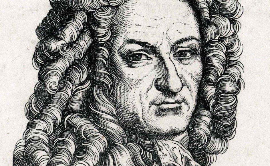 G.W. Leibniz var tysk filosof og diplomat, og så regnes han for en af de sidste af de europæiske videnskabsmænd, der beherskede samtlige videnskaber. – Foto: Shutterstock/Ritzau Scanpix.