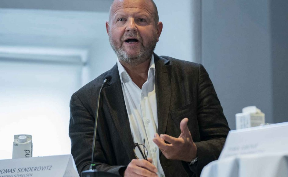 Lægemiddelstyrelsen har ansvaret for at kontrollere medicin i Danmark. Direktør Thomas Senderovitz spiller en central rolle i forhold til at sikre nok vacciner. (Arkivfoto)