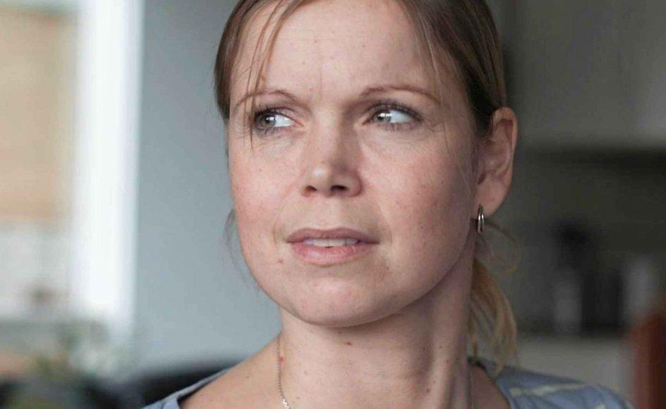 """""""Selvfølgelig ville jeg allerhelst ønske at blive helbredt,"""" sagde Louise Kæmpe Kjeldsen i en video for Scleroseforeningen. – Foto: Søren Østerlund."""