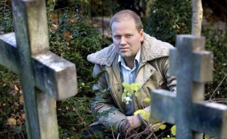 """Morten Thomsen Højsgaard er en af redaktørerne af bogen """"Gudstro i Danmark"""", som udkommer i dag. Det er også i dag, han tiltræder som ny kirkeredaktør på Kristeligt Dagblad. -- Foto: Scanpix."""