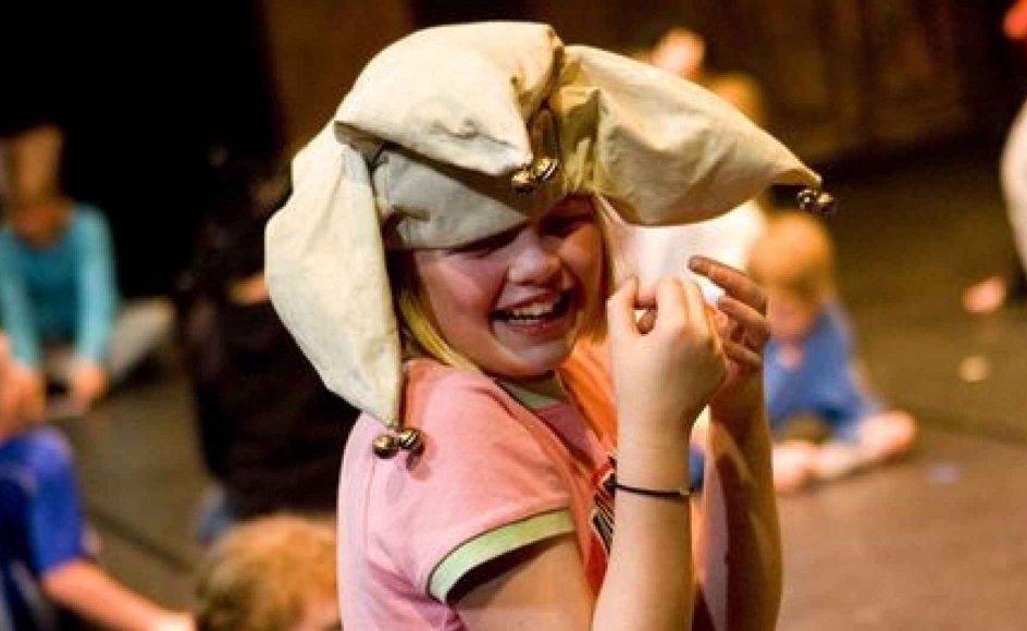 Der skal også være plads til latter og begejstring. -- Foto: Flemming Jeppesen/Fokus.