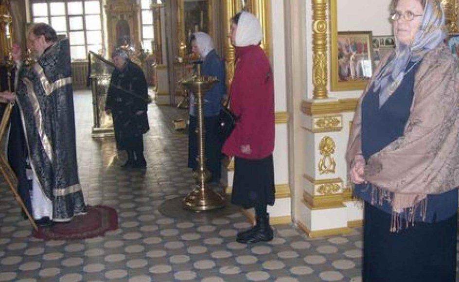 Siden Connie Meyer kom til Rusland, er tusindvis af kirker blevet renoveret. Præster bliver igen uddannede, og millioner af russere beskriver sig selv som kristne. Alligevel resterer der meget arbejde, mener hun. -- Foto: Mette Jørgensen Rodgers.
