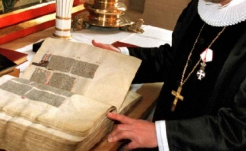 """Folkekirken fordømmer stadig """"muhammedanerne"""", og de danske biskopper er ikke til sinds at vedtage et dokument, som forklarer, hvordan de barske formuleringer i den næsten 500 år gamle Augsburgske Bekendelse skal forstås i moderne tid. -"""