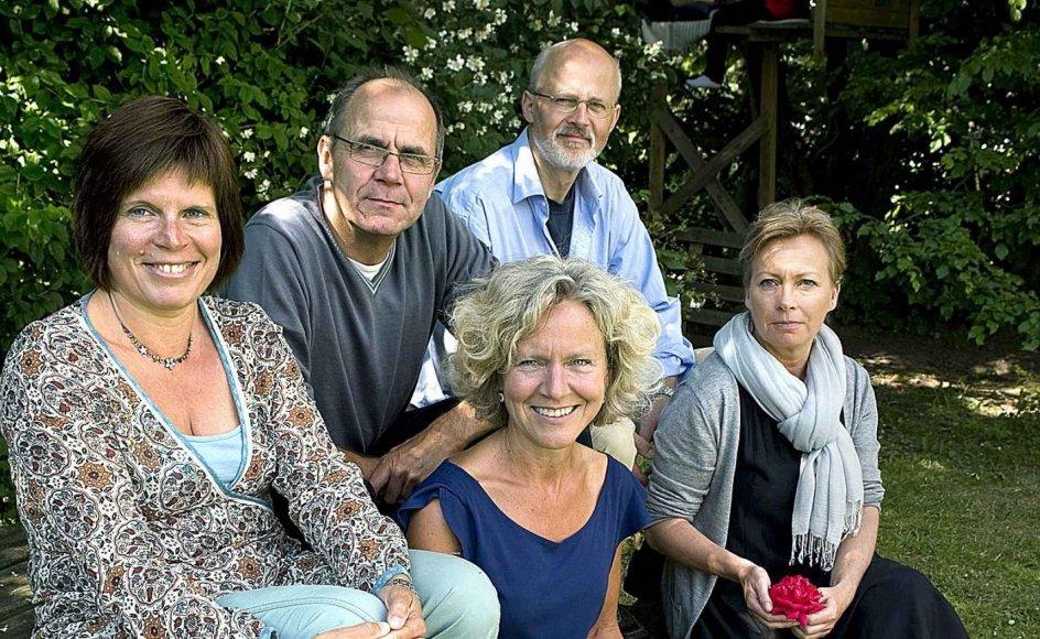 De fem familieterapeuter i Furesø Kommune oplever, at familierne er meget pressede i denne tid. –