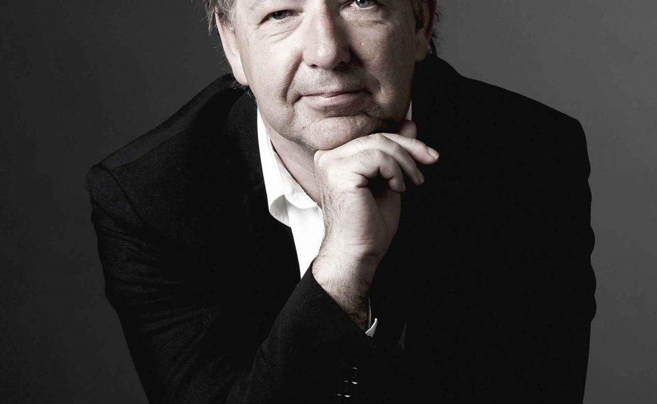 Jens Folmer Jepsen er som festugedirektør placeret på øretævernes holdeplads. –