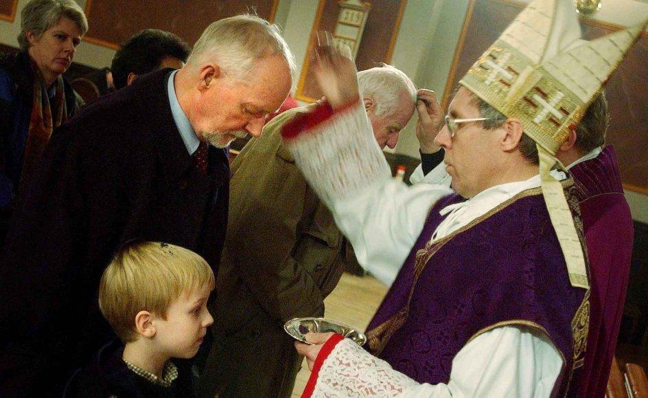 Askeonsdag gudstjeneste i Skt. Ansgar Kirke onsdag d. 13.02.02