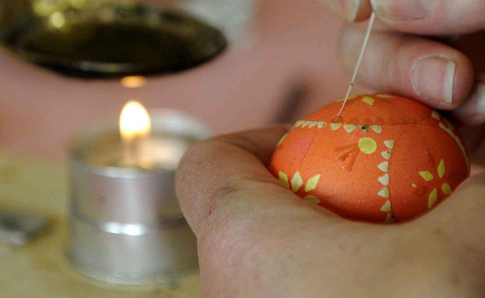 Der er mange forskellige traditioner for fejringen af påske. -