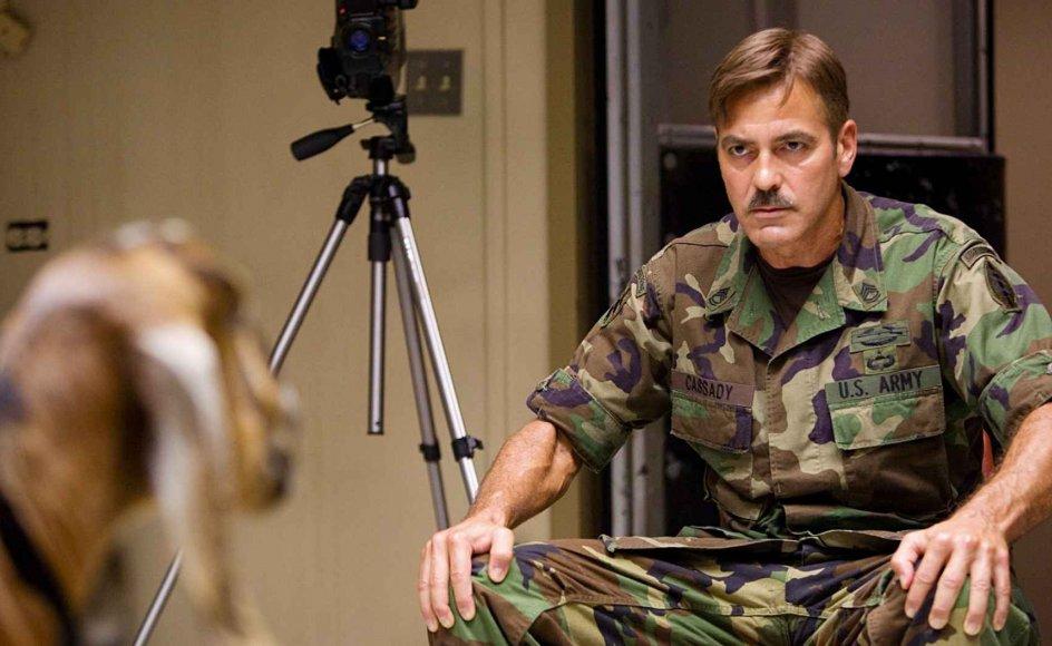 George Clooney i den finurlige film med kultpotentiale. --