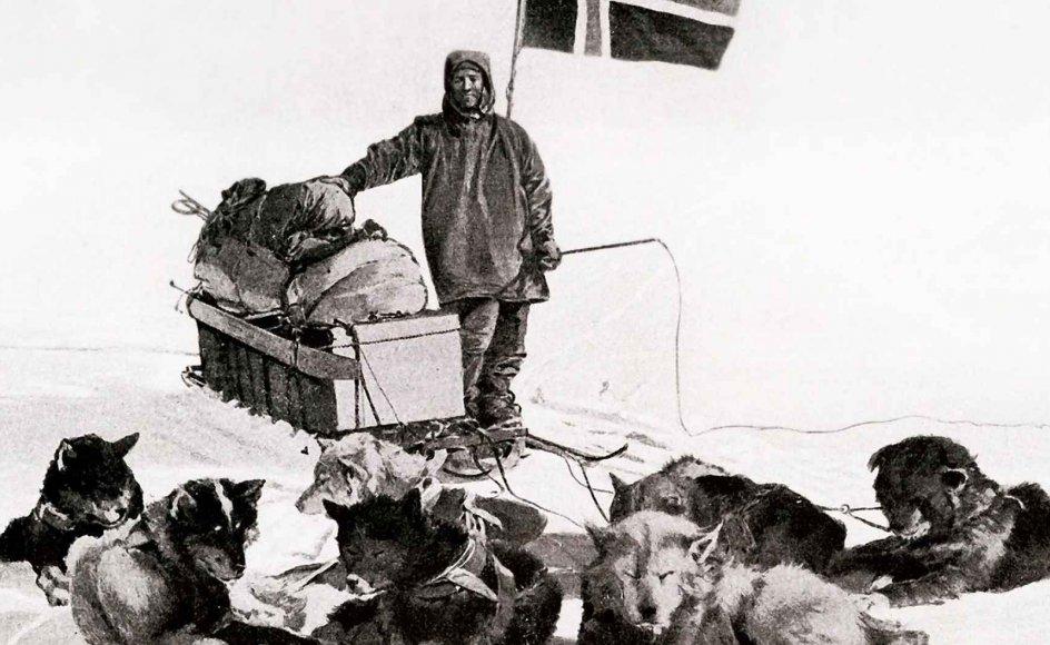 Nordmanden Roald Amundsen var manden bag den første ekspedition til Sydpolen, som han nåede den 14. december 1911.