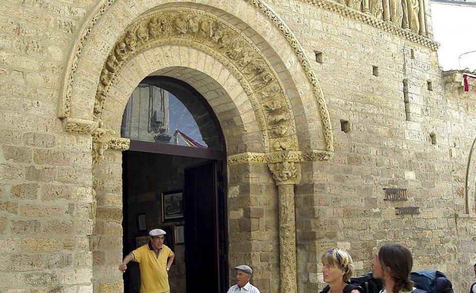 Deltagerne på læserrejsen vil blandt andet kunne opleve klosteret i Carrión de los Condes. --