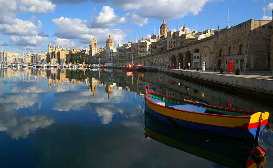 Valletta er en af verdens smukkeste hovedstæder, præget af Johanniternes arkitektur.