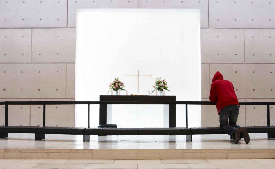Kirkegængere har lavere blodtryk, viser norsk undersøgelse.