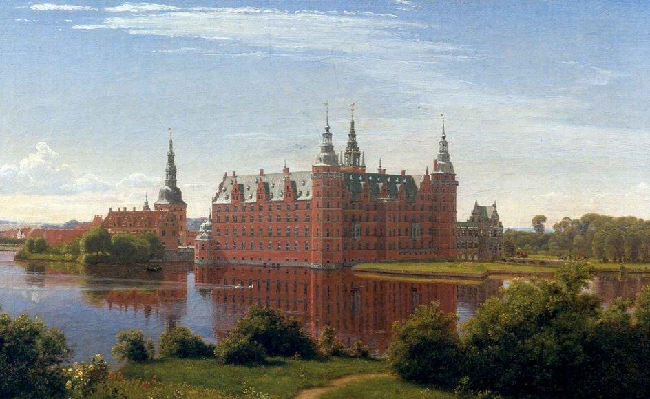 Grundlæggeren af Carlsberg, J.C. Jacobsen, blev slået af Frederiksborg Slots skønhed, da han så udsigten fra Jægerbakken mod Frederiksborg Slot. En udsigt, som maleren P.C. Skovgaard få år senere malede.