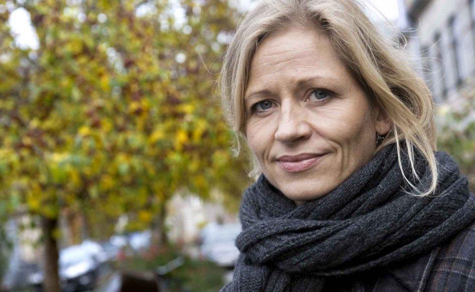 """""""Der er mindst tre farlige ting ved menneskerettighederne. Den første er, at vores gode, menneskeskabte love i Danmark undergraves og ødelægges via menneskerettighederne,"""" siger Marie Krarup"""