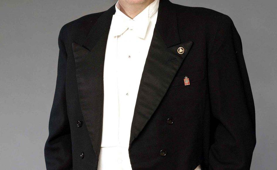 """At høre operasangeren Aage Haugland i Den Jyske Operas produktion af """"Ringen"""" i 1987 har været med til at forme Hans Dueholm som menneske."""