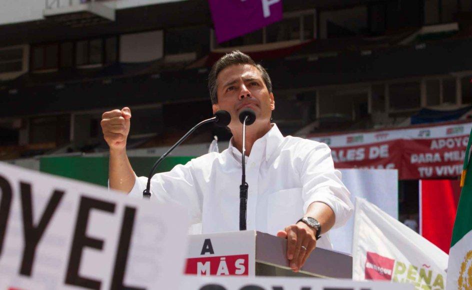 Enrique Peña Nieto er på mange måder personificeringen af den fremgang, der kendetegner Mexico i disse år. –