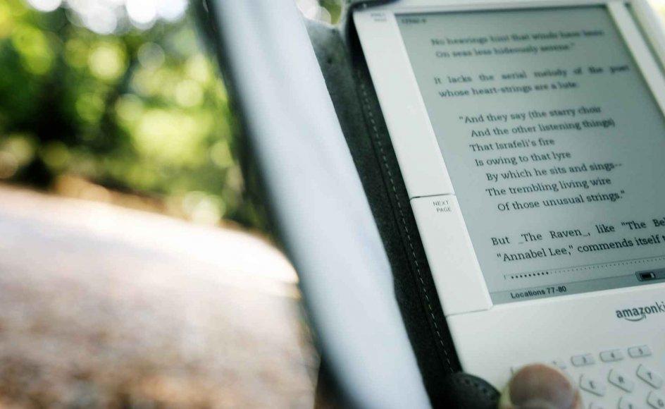 Salget af e-bøger, der i USA allerede har oversteget salget af papirbøger, er en af de faktorer, der ændrer forfatterrollen markant i disse år. –