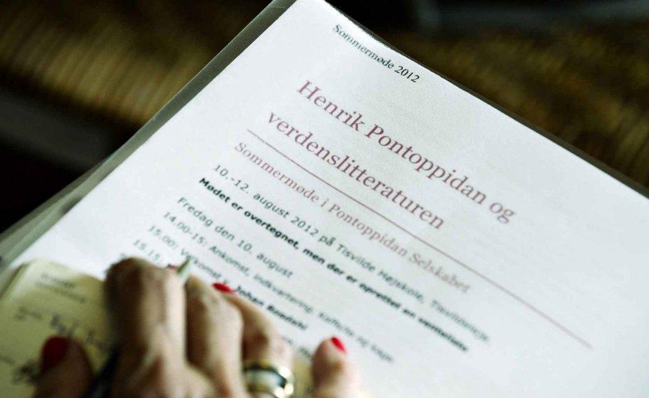 Kun de litterære selskaber for Jeppe Aakjær og Blicher har flere medlemmer end Pontoppidan Selskabet. –