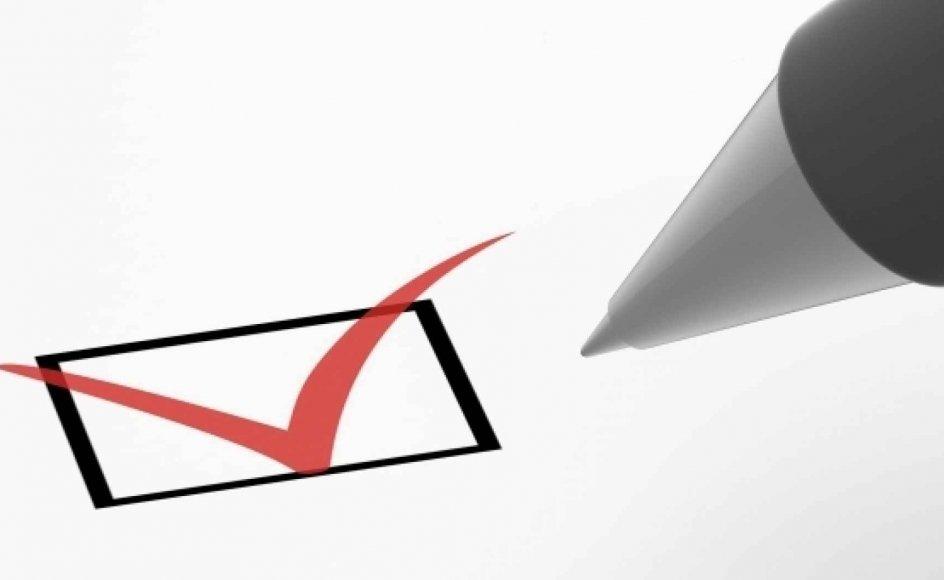 valg stemme kryds pen test