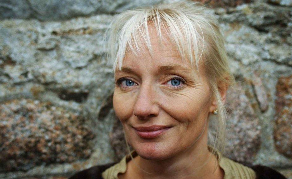 Kathrine Lilleør holder foredrag om Kierkegaard og H.C. Andersen.