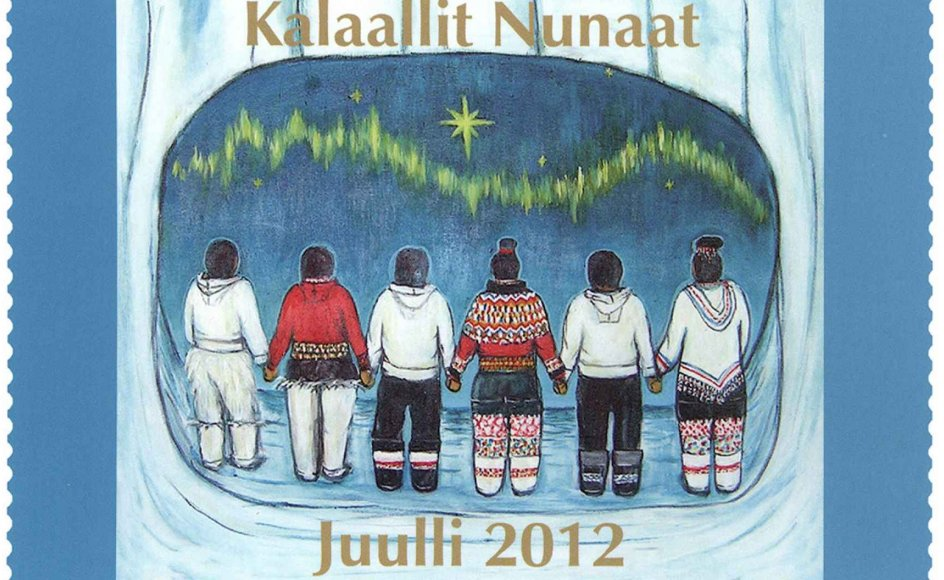 Overskuddet fra salget af dette julemærke går til at støtte grønlandsk kunst og kultur. Det er 39. gang, Grønlands Julemærkefond udgiver et mærke med arktiske julemotiver.
