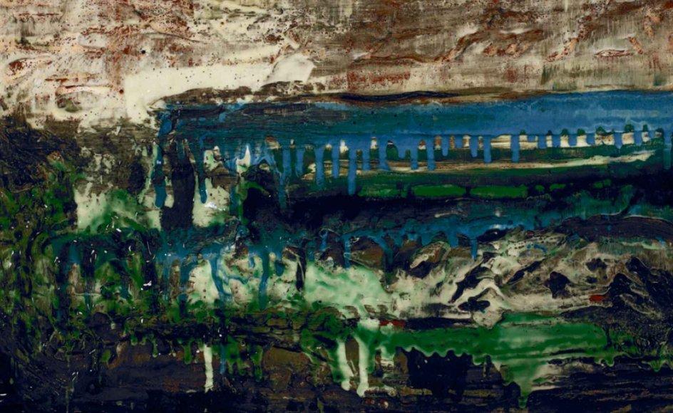 Udstillingen viser et tværsnit gennem kunstnerens liv med værker tilbage fra starten af 1980'erne.