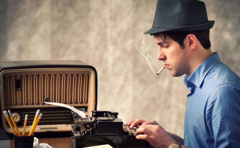 Unge skriver langt mere og bedre end for en generation siden, og flere af dem får også udgivet bøger. Det skyldes en ny kultur omkring det at skrive. Illustrationsfoto.
