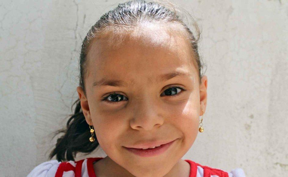 Amina Khalil Gafar er en af de 3,5 millioner syriske børn på flugt fra sit hjem lige nu. Nu på onsdag sætter Kristeligt Dagblad fokus på situationen i Syrien med et live transmityteret interview med Mellemøstkorrespondent Allan Sørensen. Stil selv et spørgsmål og deltag. -