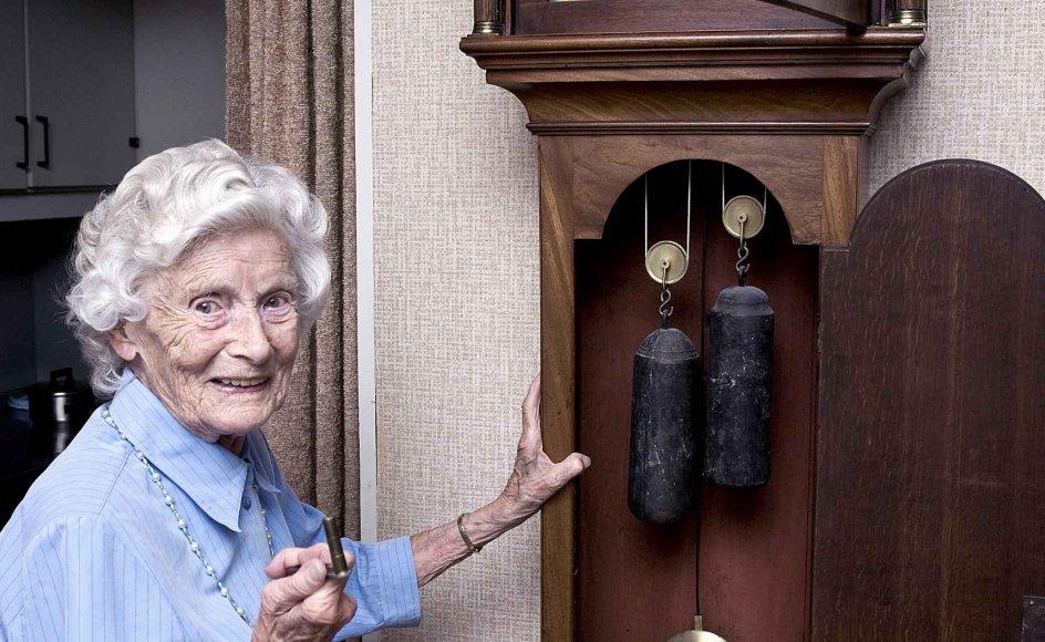 Jenny Nielsine Nielsen tilhører den stadigt voksende gruppe af danskere, som har levet i over 100 år.