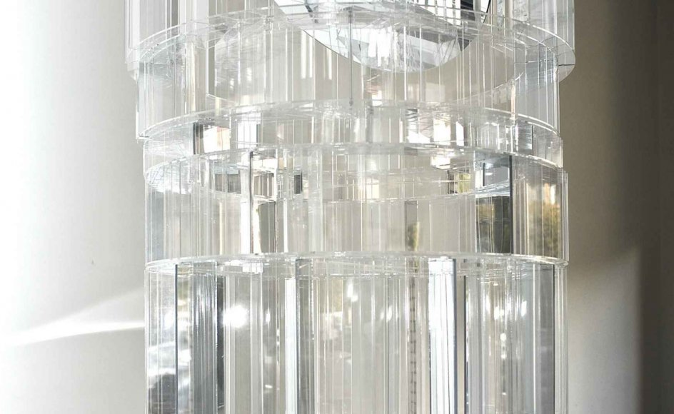 En model af et neutralt rum til livsceremonier er lige nu udstillet i København. Den er 1,4 meter høj og udformet som en cirkel, så det ikke peger i retning af en bestemt livsanskuelse. –