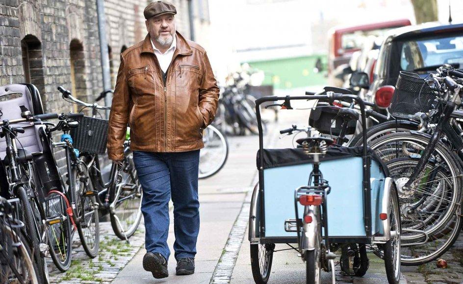 """""""Jeg elsker at gå tur her, for der bor rigtig mange dejlige mennesker,"""" siger Niels Underbjerg, sognepræst i Fredens-Nazaret Sogn på Østerbro i København."""