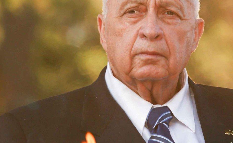 I Israel er Ariel Sharon eksemplet på lederen, der ikke bøjede sig for nogen, og som samtidig havde en evne til at gøre det uacceptable på en acceptabel måde.