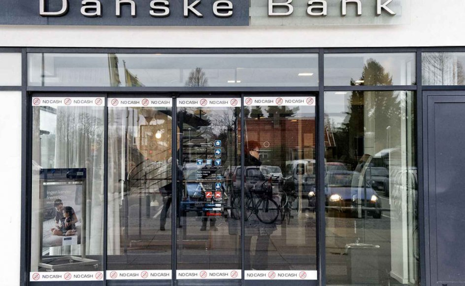 Danske Bank-filial til arkivet.