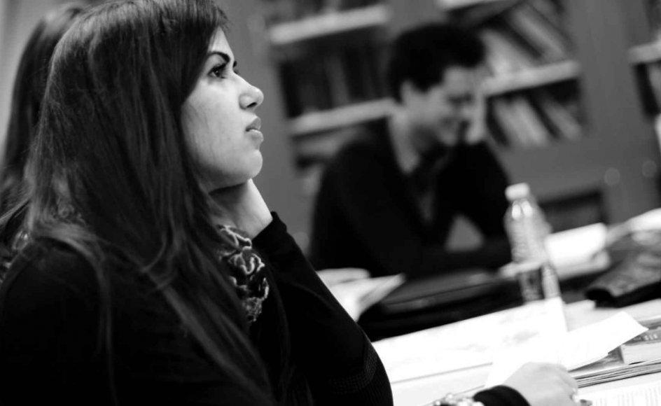 Undervisning på Zahles Seminarium.