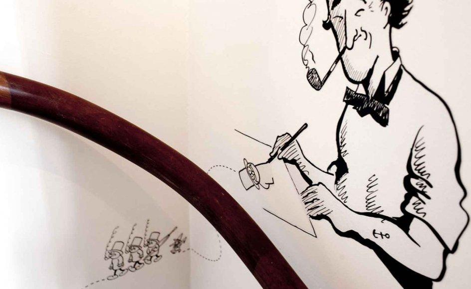 Siden Muhammed-krisen har religionssatire været omdiskuteret, og i dag kender alle Kurt Westergaards tegning, men stort set ingen kender den tradition, den europæiske religionssatire udspringer af. Vi har valgt at fokusere på religionssatirens glemte historie frem for den kendte om eksempelvis Kurt Westergaards tegning, siger Denne Meyhoff Brinck