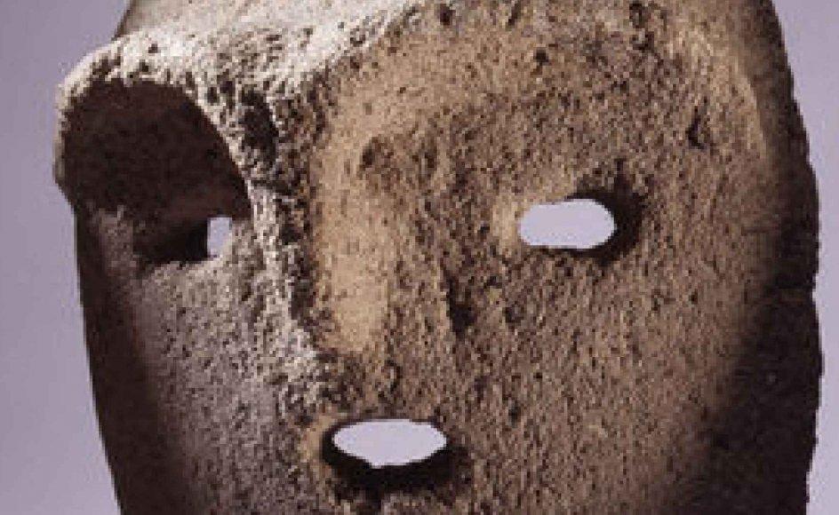De gamle stenmasker stammer fra Judæa-området mellem Jerusalem og Det Døde Hav.