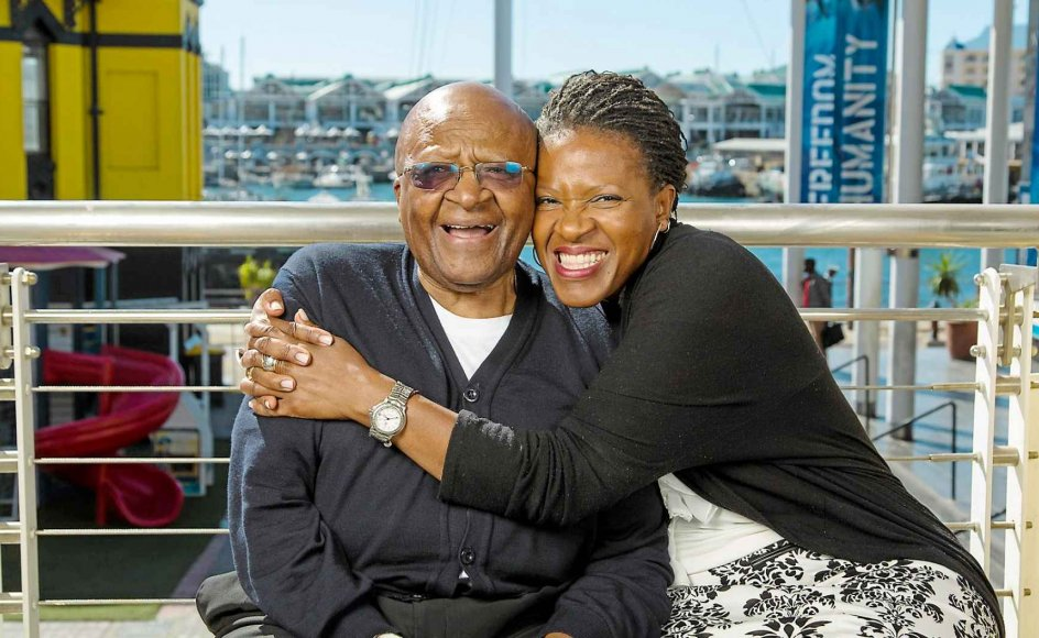THE TUTU'S & FORGIVENESS - Nobel Peace Prize Winner Desmond Tutu and his daughter Reverend Mpho Tutu on the balcony of The Desmond and Leah Tutu Legacy Foundation at the Cape Town Waterfront. The father daughter duo have written a book 'The Book of Forgiving: The Four-Fold Path for Healing Ourselves and Our World' released this month. Anglican priest DESMOND MPILO TUTU won the Nobel Peace Prize in 1984. In 1986 he was elected Archbishop of Cape Town, the highest position in the Anglican Church in South Africa. In 1995, after the end of apartheid and the election of Nelson Mandela, Tutu was appointed as chair of South Africa's Truth and Reconciliation Commission, to investigate apartheid-era crimes. His policy of forgiveness and reconciliation has become an international example of conflict resolution, and a trusted method of post-conflict reconstruction. He is currently the chair of The Elders where he gives vocal defense of human rights and campaigns for the oppressed. The Reverend MPHO TUTU has run ministries for children in Worcester, Massachusetts; for rape survivors in Grahamstown, South Africa; and for refugees from South Africa and Namibia at the Phelps Stokes Fund in New York City.Photo: Dwayne Senior / Sunday Times12 March 2013