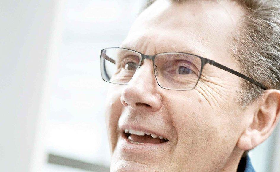 Niels Frid-Nielsen, journalist og tvvært, fotograferet i DRByen.