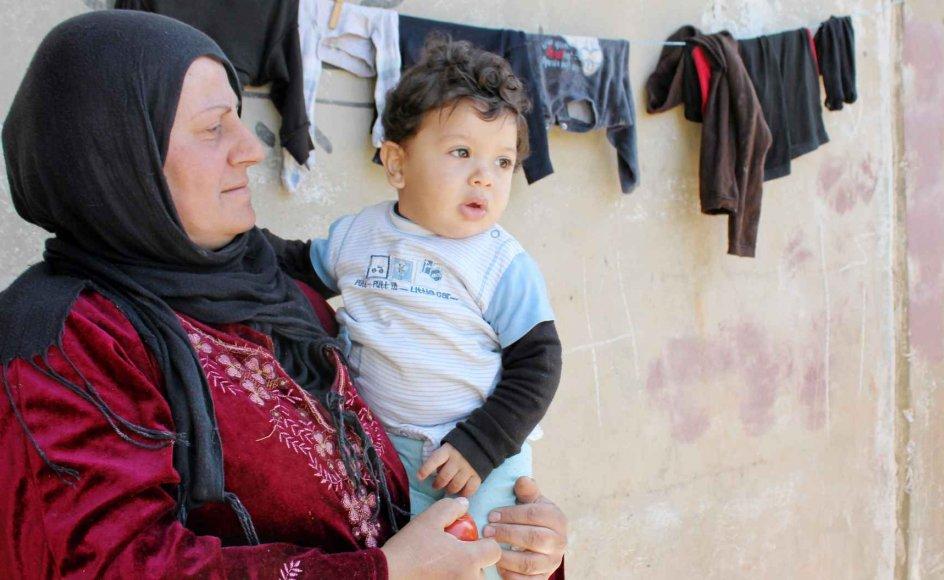 Libanon, der har godt fire millioner indbyggere, har modtaget over en million syriske flygtninge.