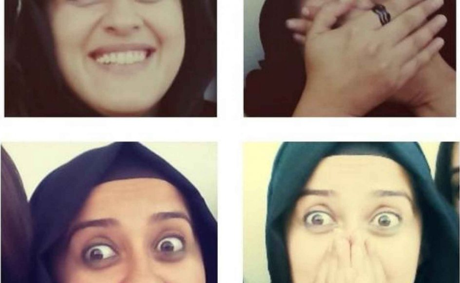 Det sociale medie Twitter flyder med billeder af tyrkiske kvinder, der griner og morer sig i det offentlige rum. Billederne er markeret med hashtagget #direnkahkaha, som betyder at modstå at grine. Tryk på pilen og se flere billeder fra Twitter.