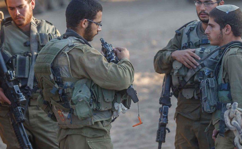 De udenlandske soldater føler sig godt taget imod af Israels befolkning.