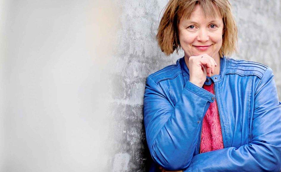 47-årige Katrine Marie Guldager udgiver i dag fjerde bind i sin Køge-Krønike og er i den nået frem til 1972.