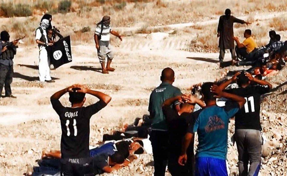Isil begår krigsforbrydelser i Irak