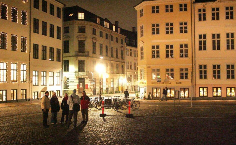 Byvandring i København.