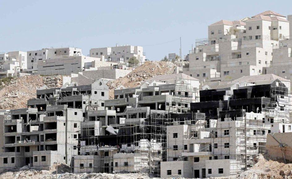Denne endnu ikke færdigbyggede israelske bosættelse ved Beitar på Vestbredden får efter de seneste planer selskab af endnu en bosættelse på et fire kvadratkilometer stort område ligeledes på Vestbredden. -