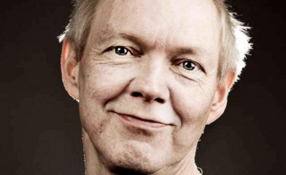 """Erling Jepsen fik i 2002 sit folkelige gennembrud med den delvist selvbiografiske roman """"Kunsten at græde i kor"""""""