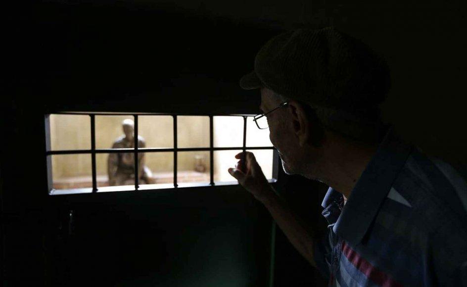Den iranske ayatollah Hossein-Kazamani Boroujerdi har siddet fængslet siden 2006 for at have opfordret til, at stat og religion bliver adskilt i Iran. Arkivfotoet er fra et tidligere iransk fængsel for politiske fanger, der lukkede i 2012.